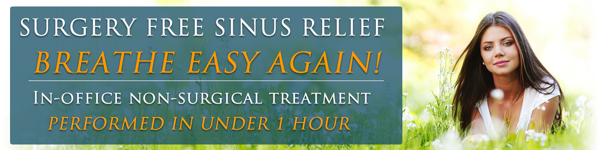 Sinus Relief Glendale Los Angeles California